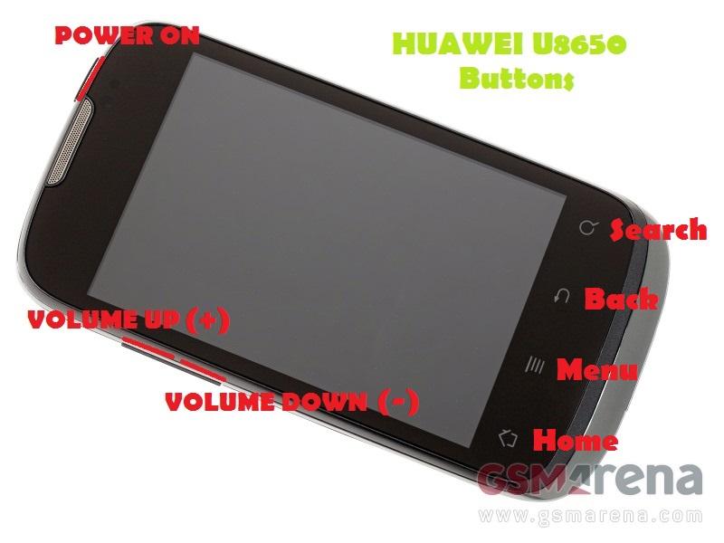 Как сделать hard reset на huawei u8650