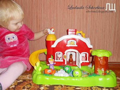 развивающая игрушка ферма