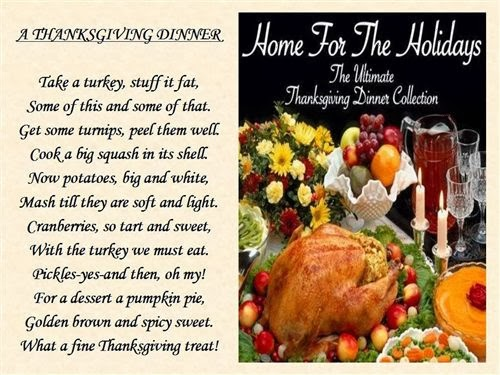 Best Thanksgiving Poems And Quotes