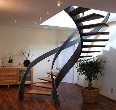 10 Modelos y Tipos de Escaleras para Interiores