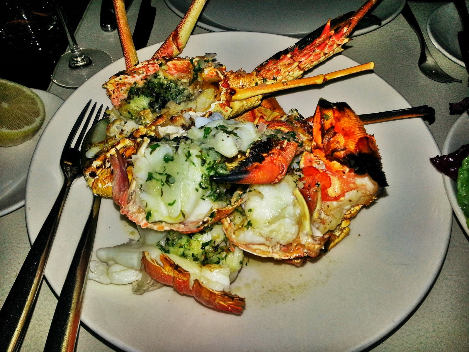 Seafood (Lobster) Dinner @ Rockpool Bar and Grill, Southbank, Melbourne CBD