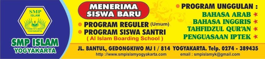 SMP ISLAM YOGYAKARTA