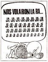 «  NOS VOLARON LA RA… »