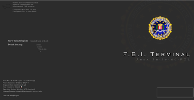 FBI Logon Terminal area Wallpapers