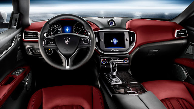 All-New Maserati Ghibli dash