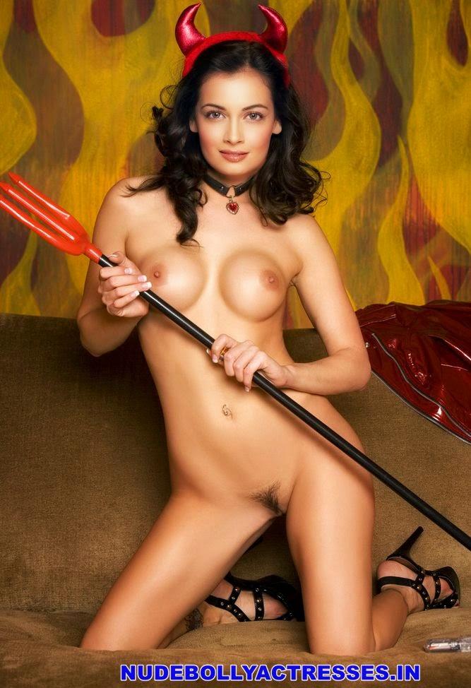Diya Mirza Nude Sexy Boobs