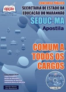 Apostila SEDUC (MA) 2015 de Educação Básica do Maranhão