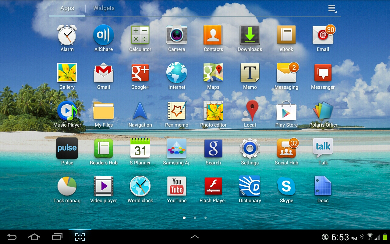 Samsung Galaxy Tab 10.1 users receiving ICS Update
