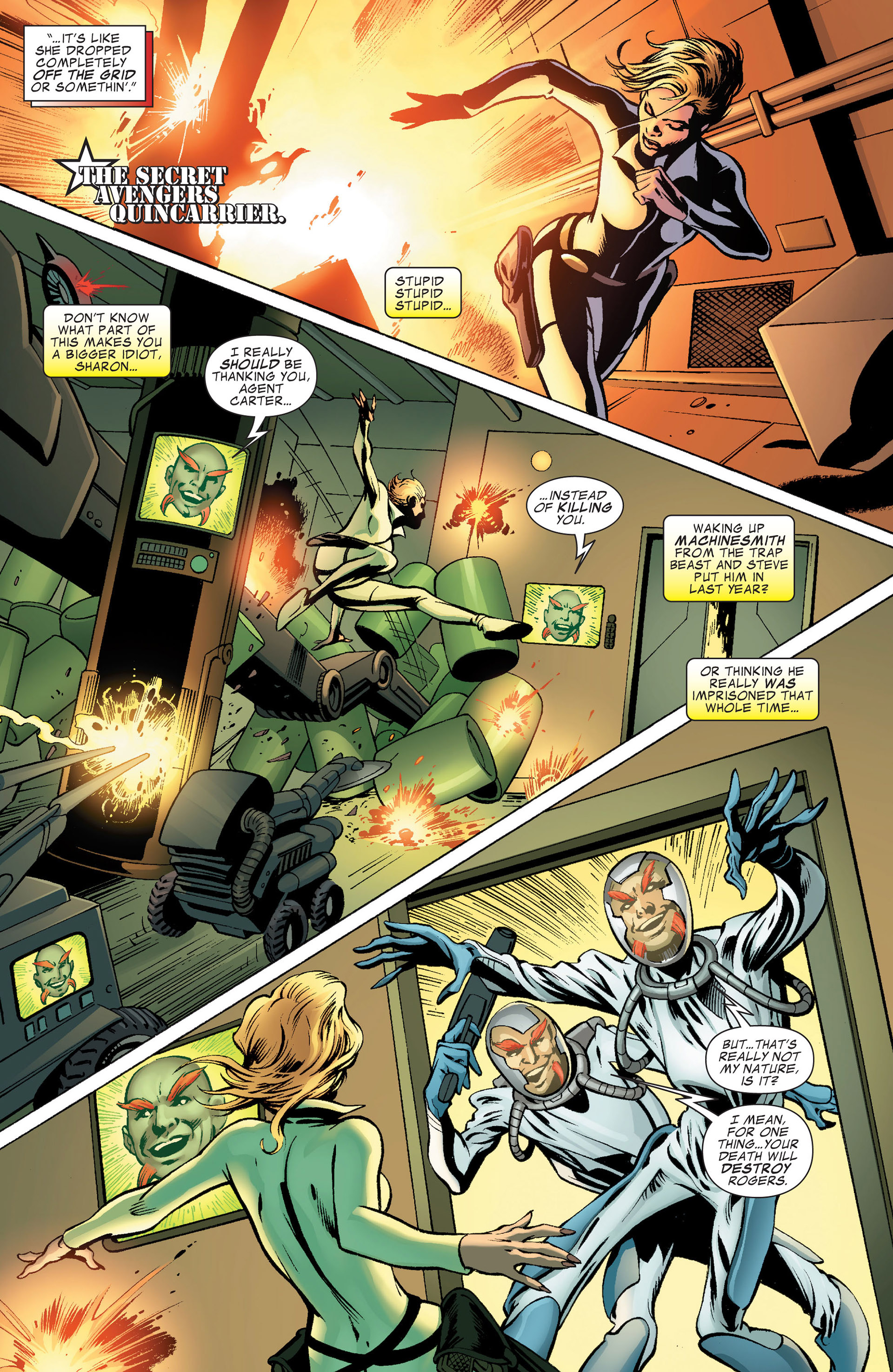 Captain America (2011) Issue #9 #9 - English 5