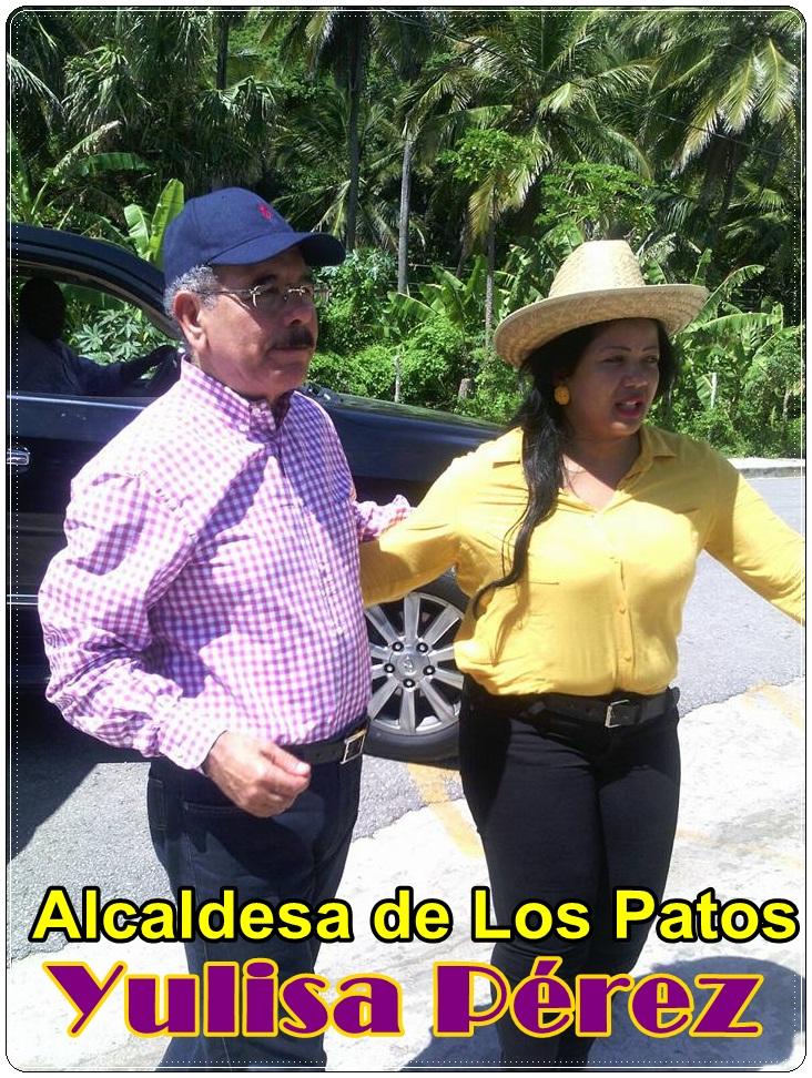 YULISA PEREZ, ALCALDESA DE LOS PATOS