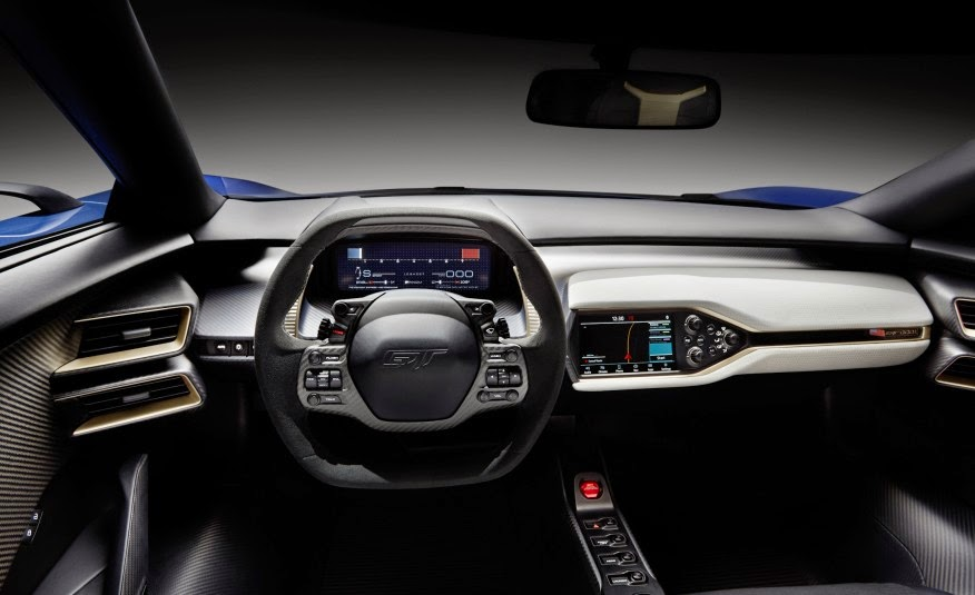 5 things to know about the 2016 ford gt so far - Ford Gt40 2015 Interior