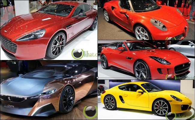 7 Jenis Mobil Tercantik di Tahun 2013