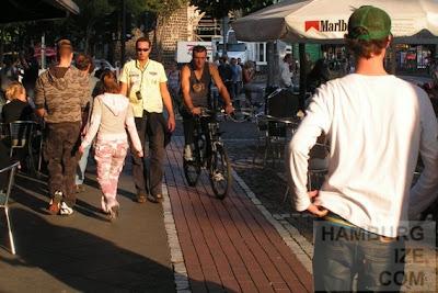 Radfahren in Kölns Innenstadt