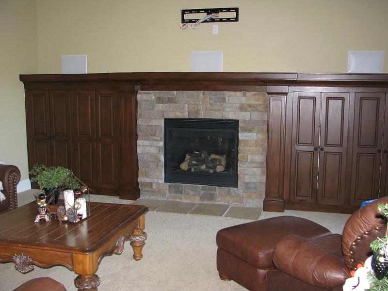 Faux Wood Fireplace The Magic Brush Inc Jennifer