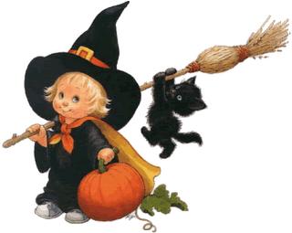 Resultado de imagen para brujitas para halloween
