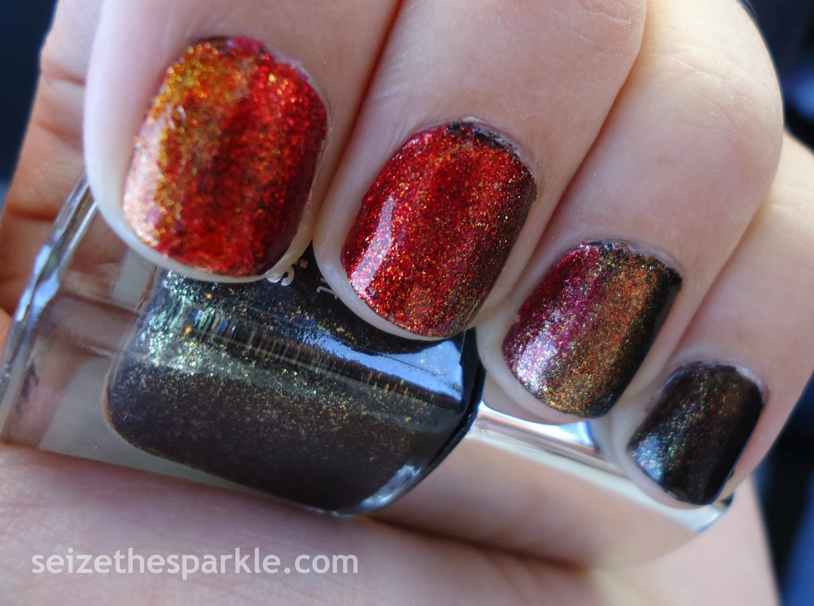 CoverGirl Catching Fire Manicure