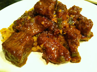 Crispy Orange Beef from Katie-Kate's Kitchen