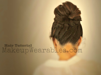 Perfect messy bun hair tutorial video | school hairstyles & updos for medium long hair