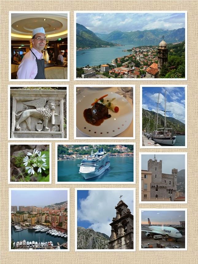 Montenegro Monaco Collage