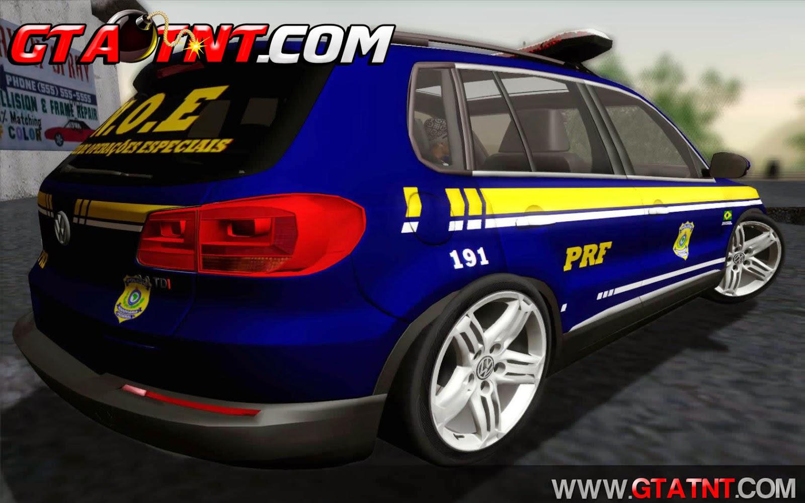 Volkswagen Tiguan 2014 Polícia Rodoviária Federal para GTA San Andreas