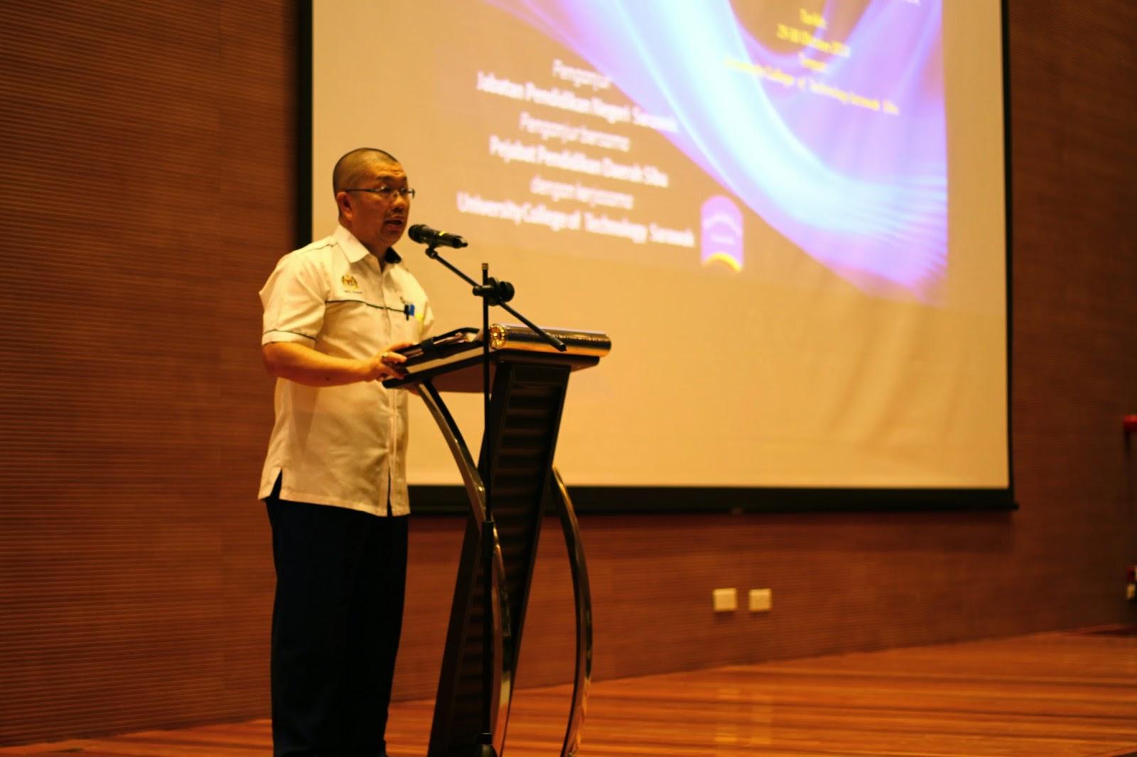 Timbalan Pengarah JPN Sarawak, Encik Abdul Rahman bin Bolhassan