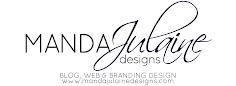 Manda Julaine Designs Button