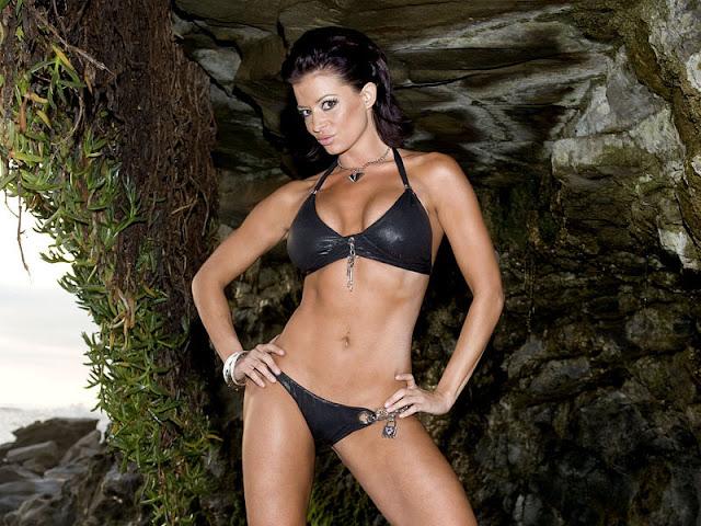 Candice Michelle in Bikini