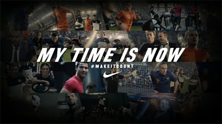 my time is now Nike