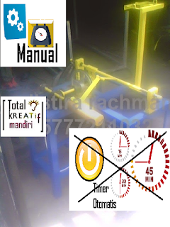 Mesin Gulung Tali Rafia Kecil Manual