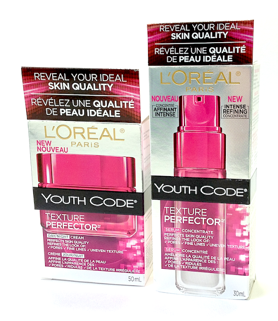 L'Oréal Paris Youth Code Texture Perfector Serum Concentrate and Day/Night Cream