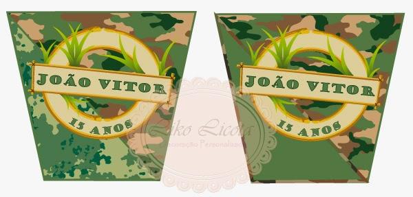 rotulos personalizados militar