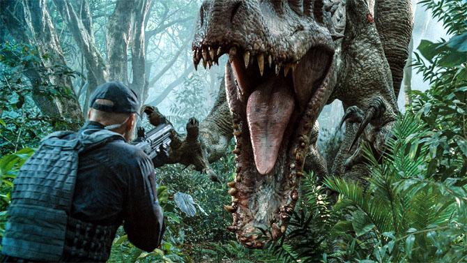 Jurassic World Screenshot car