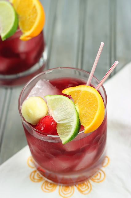 Red Apple Sangria | Cooking on the Front Burner #Sangria