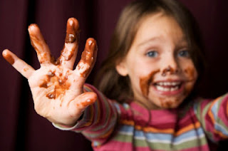فوائد الشوكولاته للاطفال