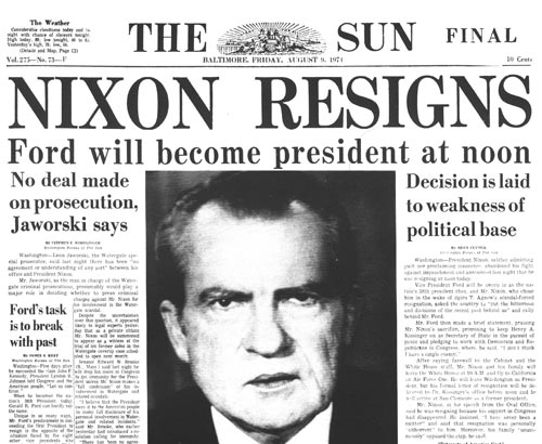 Image result for a house panel votes to impeach nixon