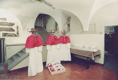 Sala Pianto Room Tears Papal Vestments