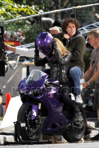 Fotos del Rodaje de Kick-ASS 2 - Hit Girl - Chloe Moretz