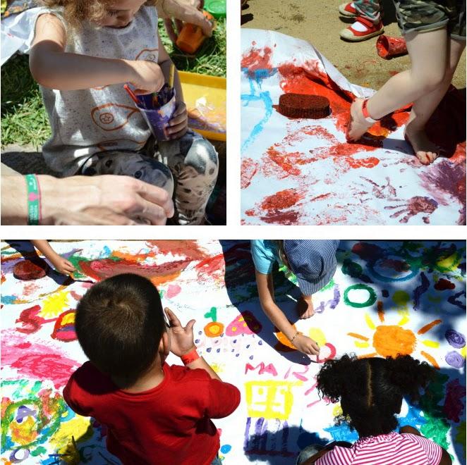 KIDdO Style - Festival weekend - painting