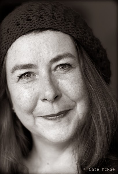 Virginia Bergin, author photo © Cate McRae 2014