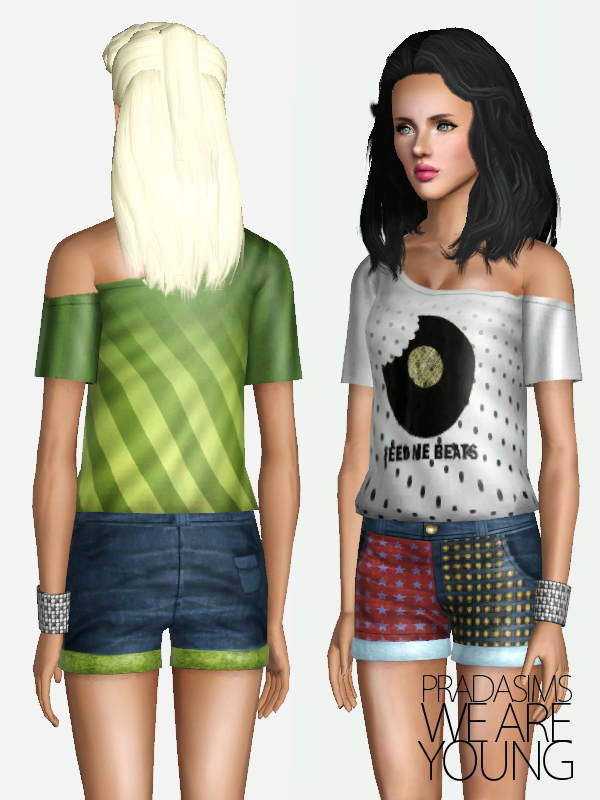 'We Are Young' Female Clothing Set by Justin_58 (Pradasims) Screenshot-82
