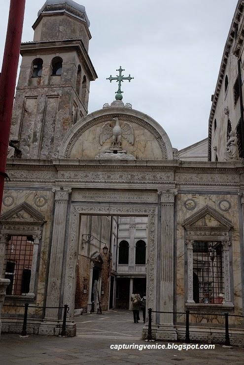 Scuola di San Giovanni Evangelista Venice capturingvenice.blogspot.com