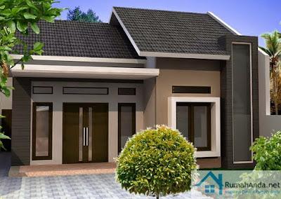 desain rumah minimalis type 60 1 lantai 60