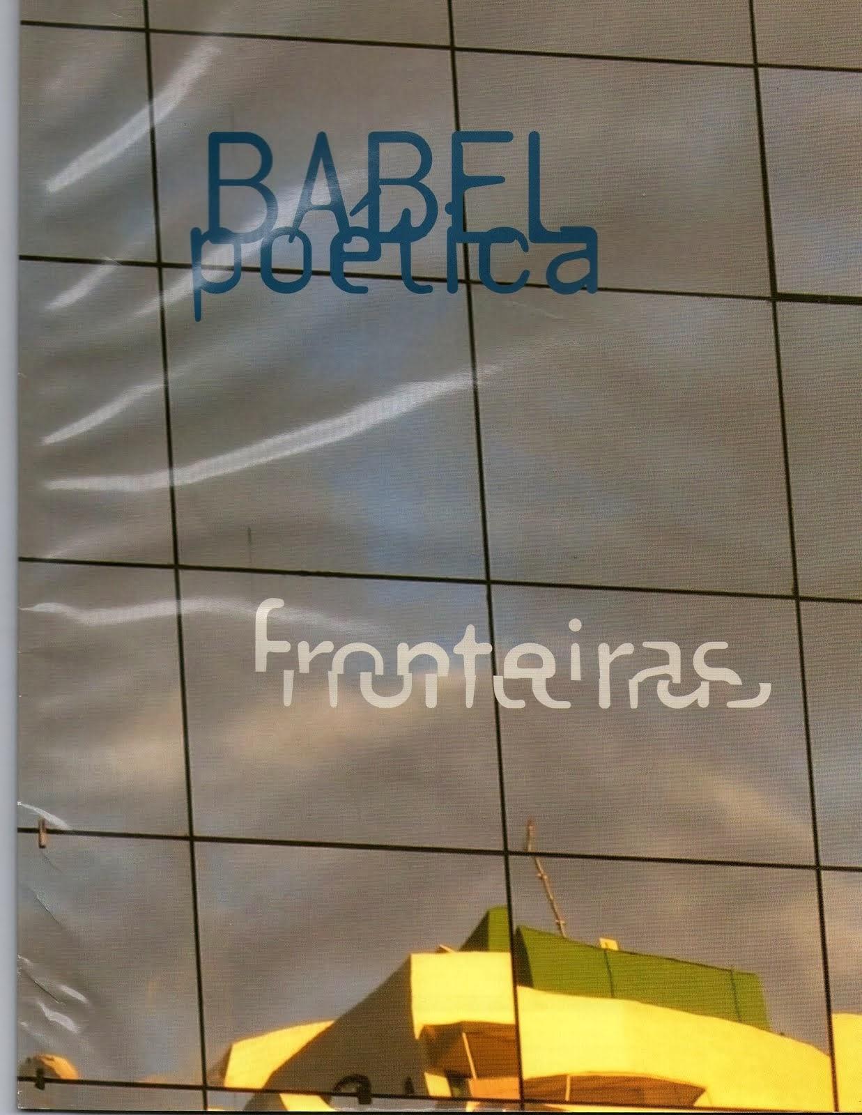 Revista Babel Poética 3