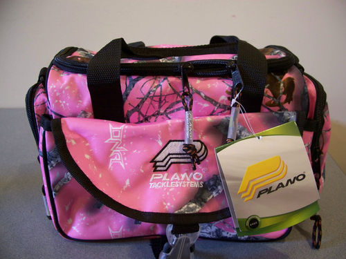 A little pink in a camo world fishing gear for Pink fishing gear