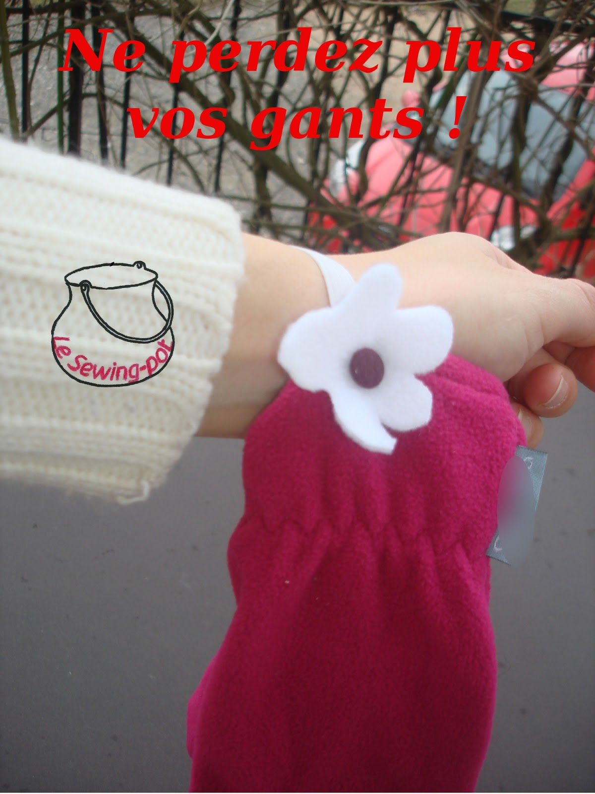 gant élastique tenir perdre déganter