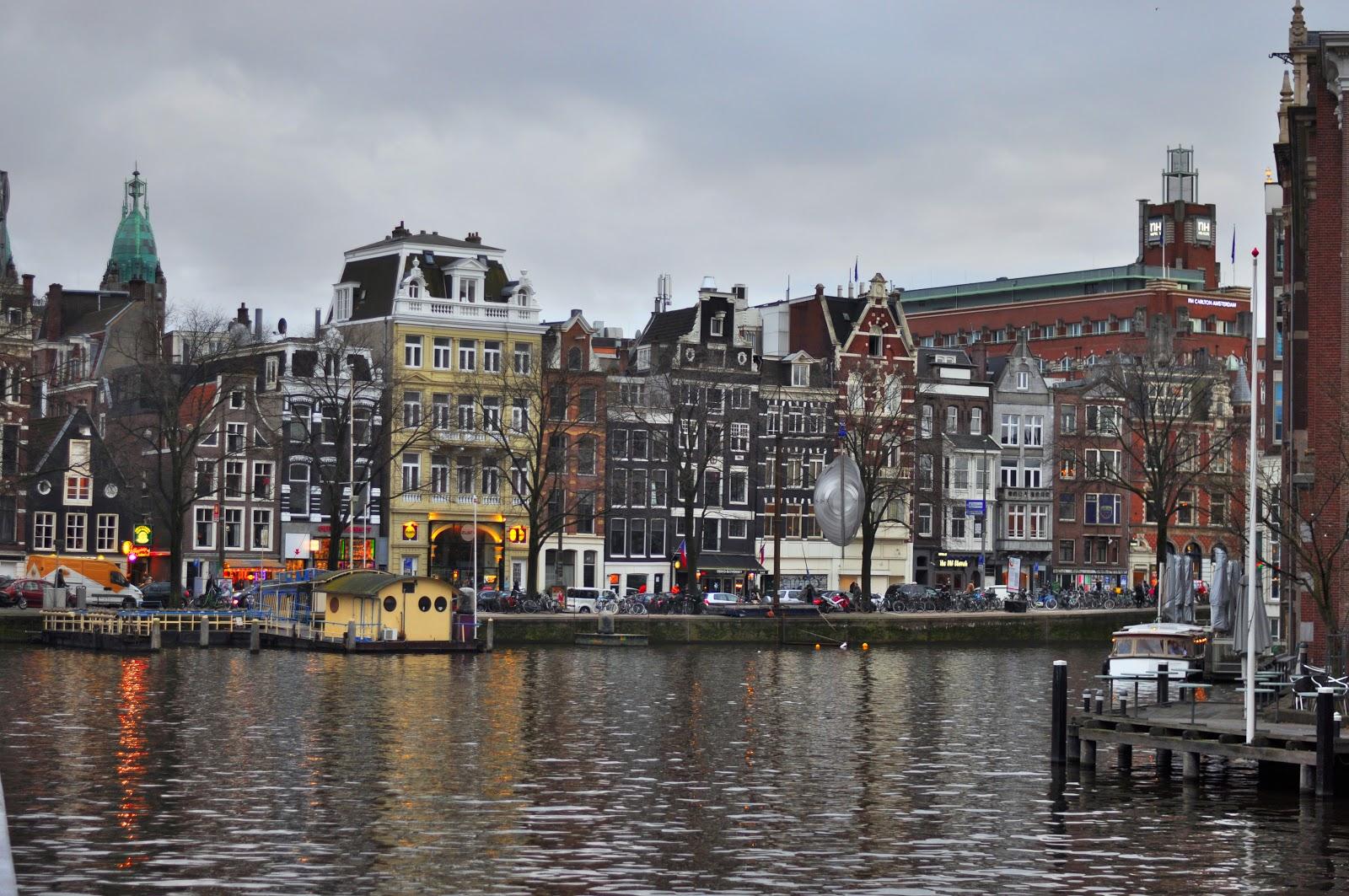 Amsterdam travelling