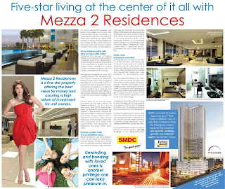 Five-star living at the center of it all with Mezza II Residences..