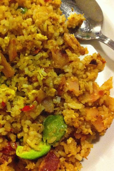 petai fried rice