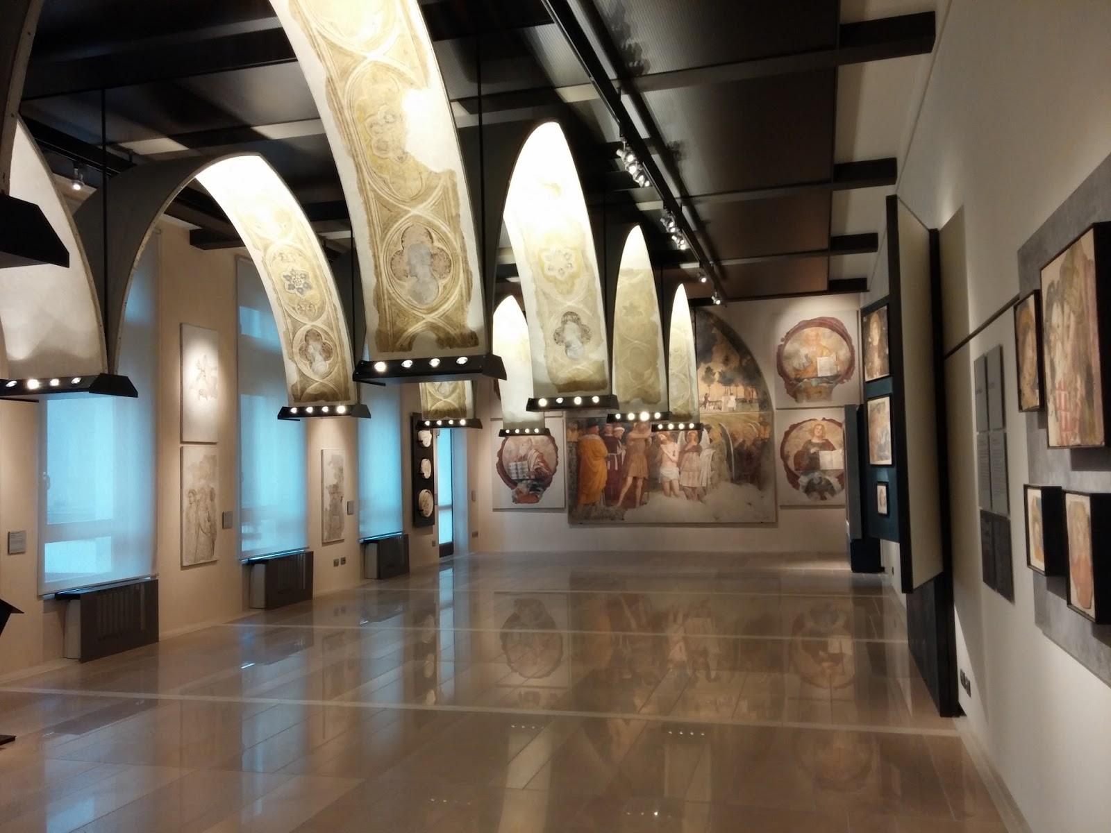 Resultado de imagen de museo degli affreschi