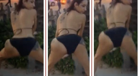 Butt-implant-pops-as-Kat-Stacks-twerks-at-the-beach